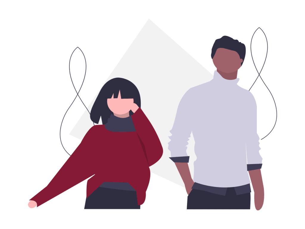 Illustration på människor